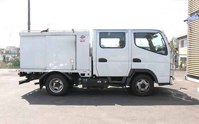 高圧洗浄車(2t)防音型